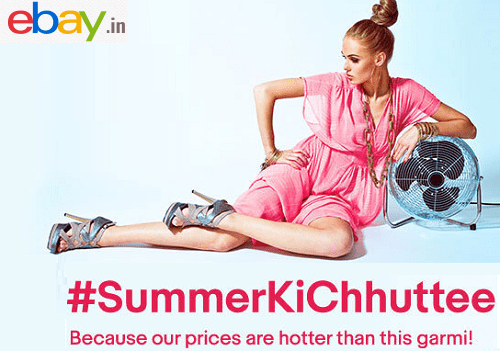 Ebay Store- Exclusive Summer Collection with extra BachaoCash Cashback