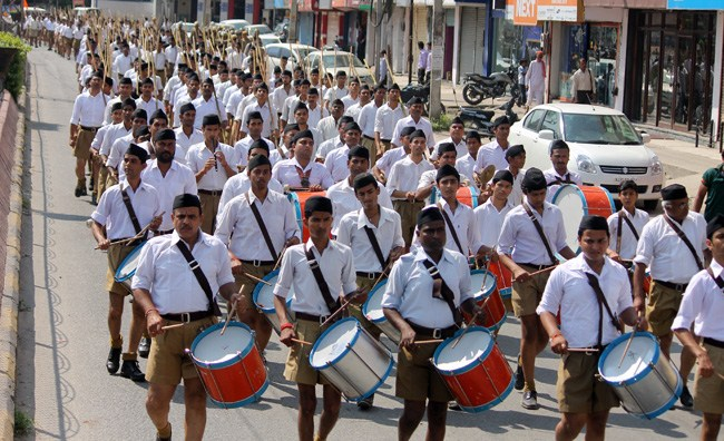 RSS Conducts Path Sanchalan