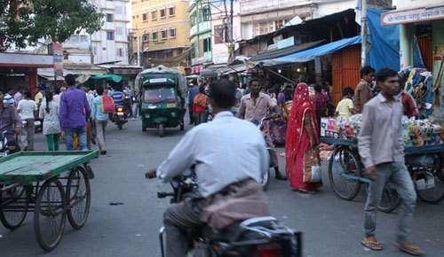 Encroachment removed from Dhanmandi & Ashwini Bazar