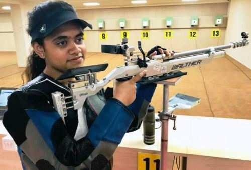 डी.पी.एस, उदयपुर की सुदीक्षा ने शूटिंग मे जीता स्वर्ण पदक