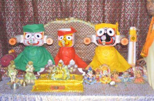"""[PHOTOS] Sector-7 Shri Jagannath Swamy Temple """"Maha-Snaan"""""""