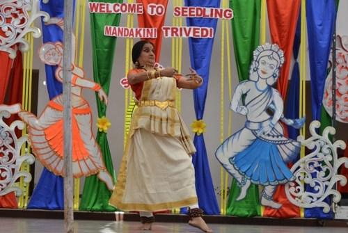 SPIC MACAY Mohiniattam presentation at Seedling
