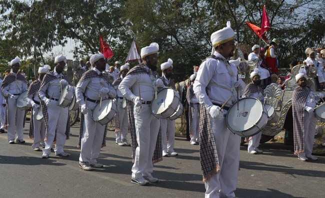 [Photos] Mass procession organized by Bohra community