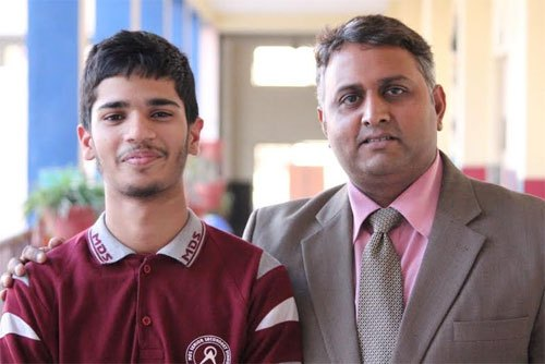 MDS Student gets selected in International Earth Science Olympiad