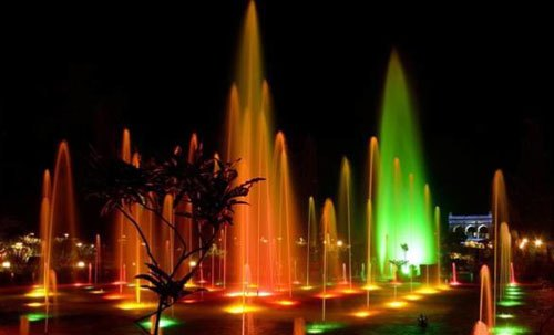 Light & Sound and Laser Show expected to start at 3 city spots