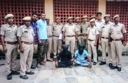 सलूम्बर में मासूम के साथ बलात्कार के दो आरोपी गिरफ्तार