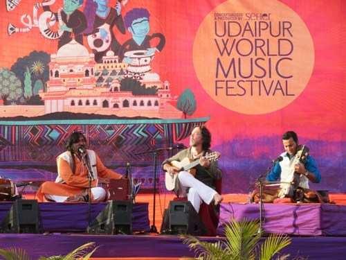 Udaipur World Music Festival from 15th Feb