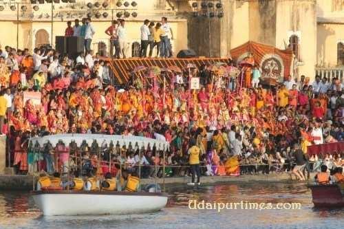Gangaur Utsav Celebrated at Udaipur