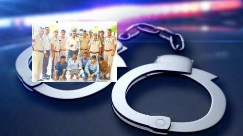 Theft racket nabbed-Theft in Udaipur, Jaipur and Mumbai