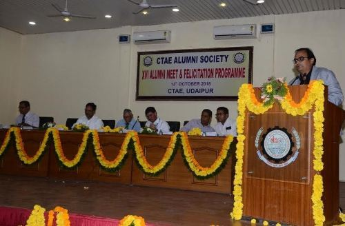 Flash back to College days – 16th Alumni meet at CTAE concludes successfully