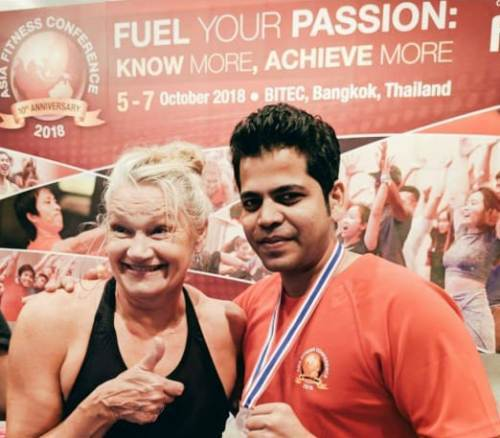 Vyom Bolia | Udaipur Physio secures Gold medal at International Fitness Workshop