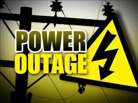 Power cut faced by half the city on Monday night