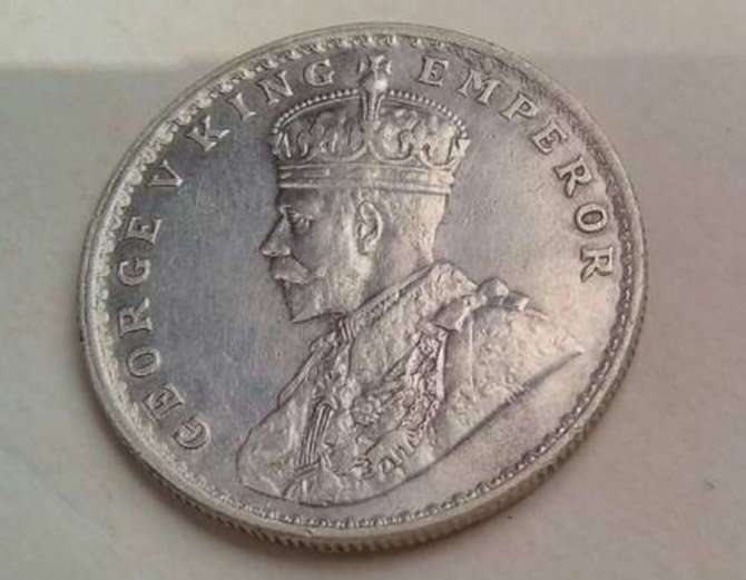 Antique Silver coins found in Bharatpur river bed