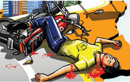 Accident at Pratapnagar | 1 dead