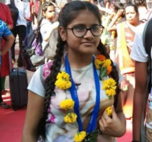 Diya Doshi, student of Class 8 from Udaipur selected for National level Chess competition