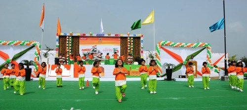Wonder Cement's Patni Public School celebrated 72th Independence Day