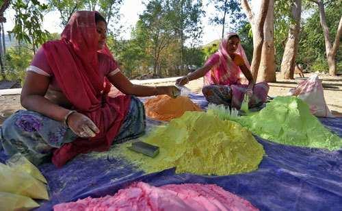 Celebrate Holi with Mewari herbal gulal-Keep your skin safe