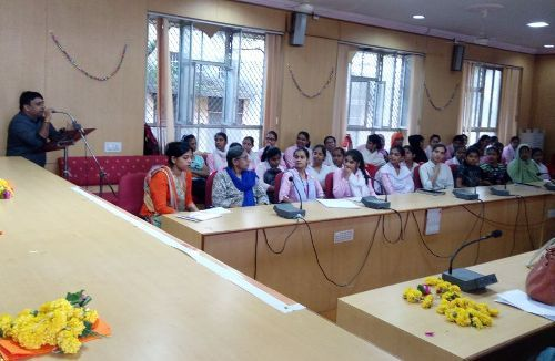 DISHA | An interactive session on Job preparedness and Interview skills at MG College
