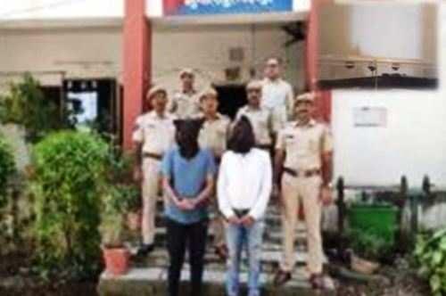 अवैध देशी कट्टा और 22 बोर राइफल के साथ दो गिरफ्तार