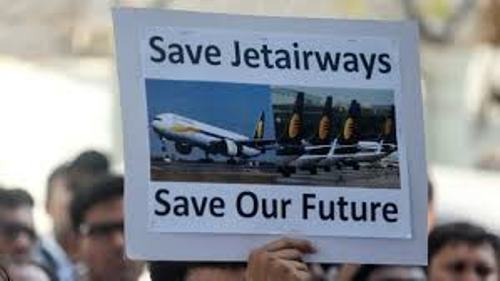 Udaipur Jet Airways employees appeal to save the airlines
