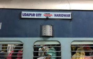 Udaipur to Haridwar train cancelled for 4 days