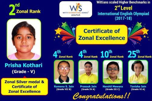 Wittians perform at 2nd Level Olympiad SOF