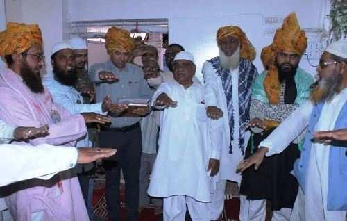पहली बार उदयपुर के इमाम् आलिमो का सम्मान