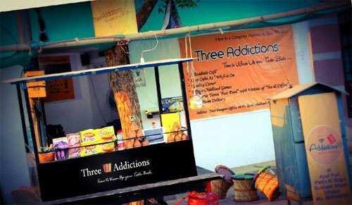 "Three Addictions, a ""Chai Thadi"" for Girls by a Girl"