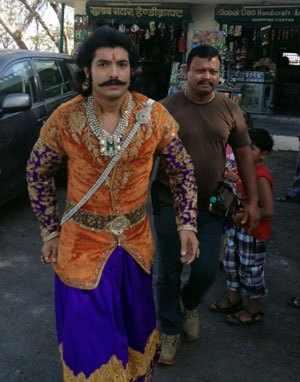 Reel Maharana Pratap visits Udaipur