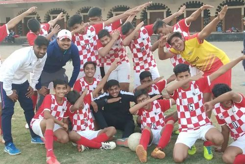 GD Goenka cranks up the levers – Second place at First Ryan Football Cup 2018