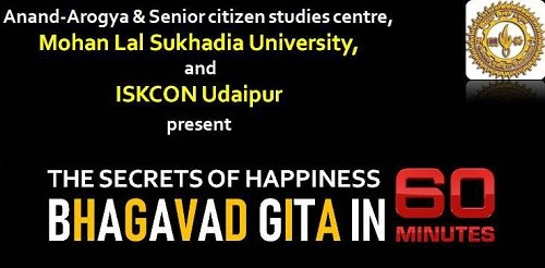 Secrets of Happiness – Bhagvad Gita in 60 minutes   An ISKCON – Jigyasa event