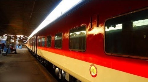 LHB coaches for Udaipur-Shalimar Express