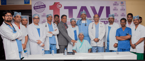 First Successful TAVI of South Rajasthan