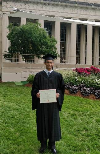 Graduation from MIT and selected at Top Graduate Schools: Chitraang, an inspiration