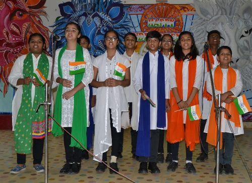 Independence Day celebrations at Seedling Udaipur
