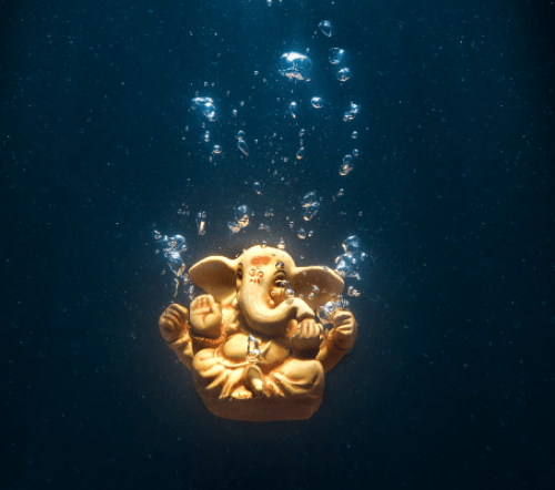 10 tanks for symbolic immersion of Ganesh idols