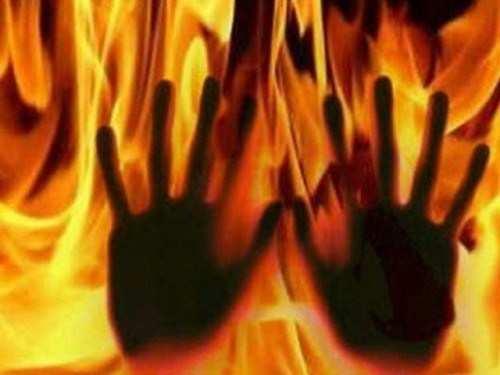 Employee threatening self-immolation goes behind bars
