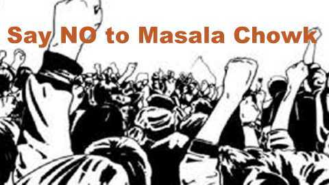 """Masala Chowk"" is not welcomed by Udaipur public"