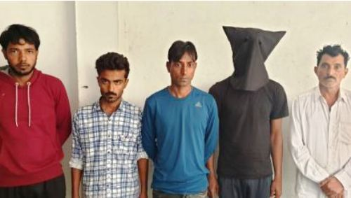Most Wanted Hardcore Criminal Imran Kunjda arrested with four associates and weapons