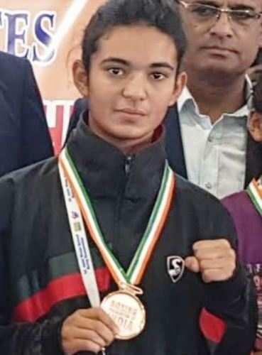Udaipur girl goes boxing in Ukraine