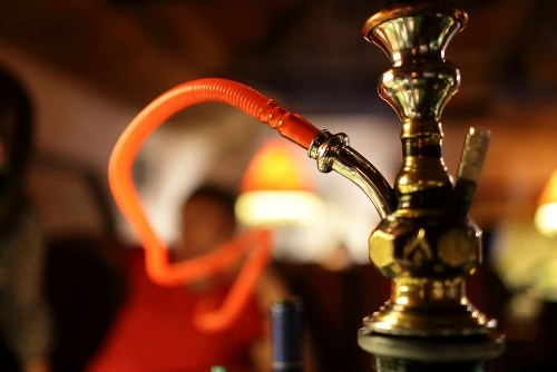 Police raids hukka bar in Goverdhan Vilas