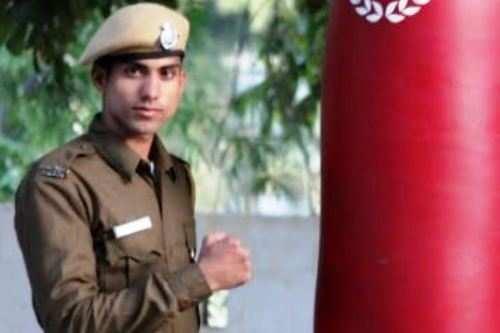 हेमंत चौबीसा राजस्थान पुलिस मुक्केबाज़ी टीम मे
