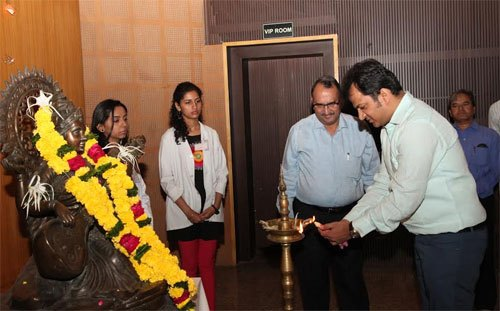 New Students welcomed at Geetanjali Medical College