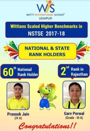 Witty achievers perform in NSTSE-2018