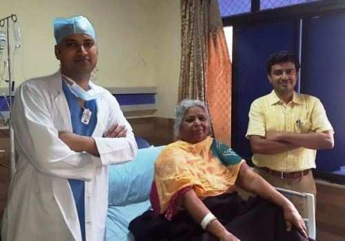 65 yr old treated for Internal Bleeding
