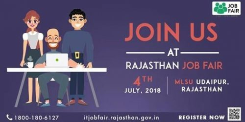IT Job fair to be held in Udaipur on 4-July