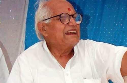 शहर के पूर्व विधायक और भाजपा के नेता शिव किशोर सनाढ्य का निधन