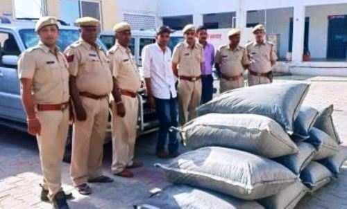 353 किलो 600 ग्राम अफीम डोडा चूरा समेत एक गिरफ्तार