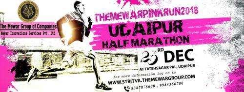 Udaipur Half Marathon on 23rd December-The Mewar Group
