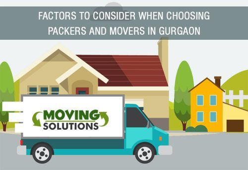 Factors to Consider When Choosing Packers and Movers in Gurgaon